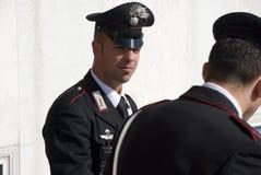 Carabinieri - italian policemen Stock Images