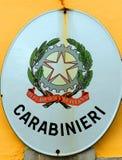 Carabinieri, Palmanova, Italy Stock Photos