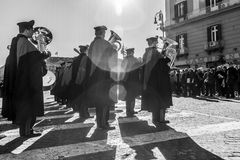 Carabinieri parade Royalty Free Stock Photos