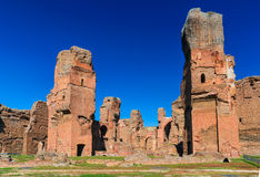 Caracalla,罗马,意大利浴  免版税库存图片
