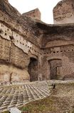 caracalla di Italy Rome terme Zdjęcie Royalty Free
