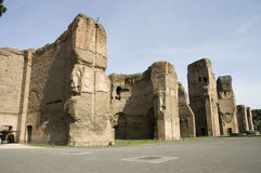 Caracalla's Baths site Royalty Free Stock Photos