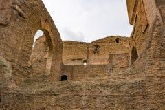 Caracalla - Terme di Caracalla浴的废墟  图库摄影