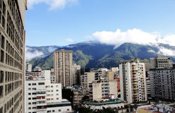Caracas from 13th floor Royalty Free Stock Photo