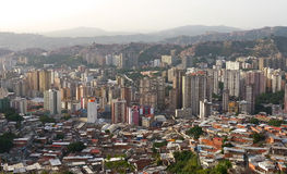 Caracas, Capital of Venezuela. Photo taken using a Samsung Galaxy SIII (GT-I9300 royalty free stock photos