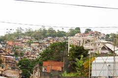 Caracas-EL Hatillo Miranda State /Venezuela 07/28/2018 Elendsviertel herein lizenzfreie stockfotografie