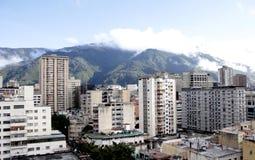 Caracas från La Candelaria Arkivbilder