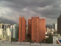 CARACAS ON high Royalty Free Stock Images