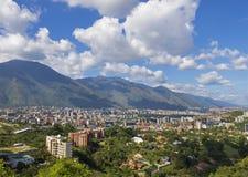 Caracas, hoofdstad van Venezuela stock afbeeldingen