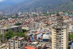 Caracas, hoofdstad van Venezuela stock foto