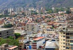 Caracas, hoofdstad van Venezuela royalty-vrije stock afbeeldingen