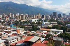 Caracas huvudstad av Venezuela royaltyfri fotografi