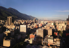 Caracas skyline. Royalty Free Stock Images