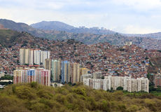 Caracas stad Huvudstad av Venezuela Arkivbild