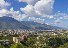 Caracas, stolica Wenezuela obrazy stock
