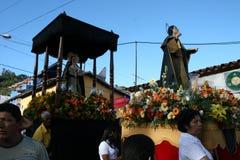 CARACAS VENEZUELA - April 10, 2009 - långfredag, påsk Celebtations Arkivfoton