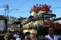 CARACAS VENEZUELA - April 10, 2009 - långfredag, påsk Celebtations Fotografering för Bildbyråer
