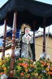 CARACAS, VENEZUELA - 10 avril 2009 - Vendredi Saint, Pâques Celebtations Photographie stock libre de droits