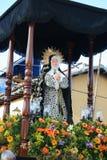 CARACAS, VENEZUELA - 10 de abril de 2009 - Sexta-feira Santa, Páscoa Celebtations Fotografia de Stock Royalty Free