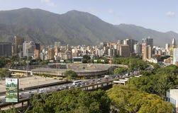 Panorama of Caracas city, Venezuela stock images