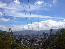 Caracas. View from the avila mountain Royalty Free Stock Photo