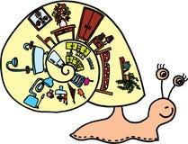 Caracol con el shell libre illustration