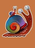 Caracol do arco-íris Imagens de Stock