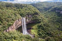 Caracol Falls Canela Brazil Stock Image