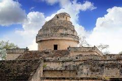 Caracol Mayan observatory Chichen Itza Mexico. Yucatan Stock Photo