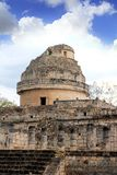 Caracol Mayan observatory Chichen Itza Mexico Stock Photography