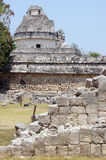Caracol and ruins Stock Images