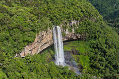 Caracol siklawa - Canela miasto, rio grande robi Sul, Brazylia - Zdjęcia Stock