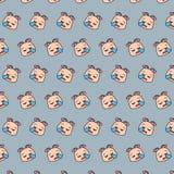 Caracol - teste padrão 24 do emoji ilustração do vetor