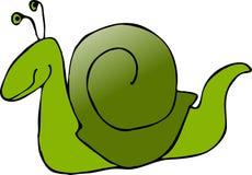 Caracol verde Fotografía de archivo libre de regalías