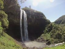 Caracol-Wasserfall Lizenzfreies Stockfoto