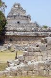 Caracol y ruinas Imagenes de archivo