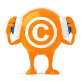 caractère 3d Photographie stock libre de droits