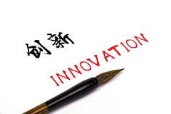 Caractère chinois : innovation Image libre de droits