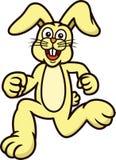Caractère courant d'animal de bande dessinée de lapin illustration libre de droits