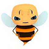 Caractère d'abeille Photographie stock libre de droits