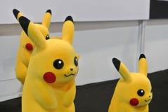 Caractère d'Anime des bandes dessinées de Pokemon et du nombre d'actions fictif de jeux photo libre de droits