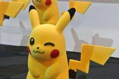 Caractère d'Anime des bandes dessinées de Pokemon et du nombre d'actions fictif de jeux photos libres de droits