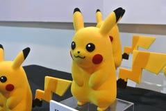 Caractère d'Anime des bandes dessinées de Pokemon et du nombre d'actions fictif de jeux photographie stock libre de droits