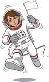 Caractère d'astronautes Image stock