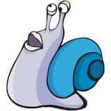 Caractère d'escargot illustration de vecteur