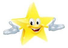 Caractère d'homme d'étoile Photo stock