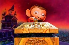 Caractère de Disney Albert le moneky Photos stock