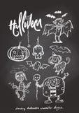 Caractère de Halloween de dessin Photographie stock libre de droits