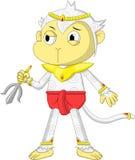 Caractère de Hanuman illustration libre de droits