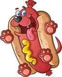 Caractère de hot-dog Images libres de droits
